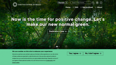 Screenshot of nationalforest.org