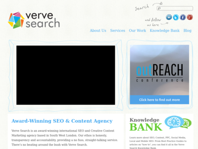 Screenshot of vervesearch.com